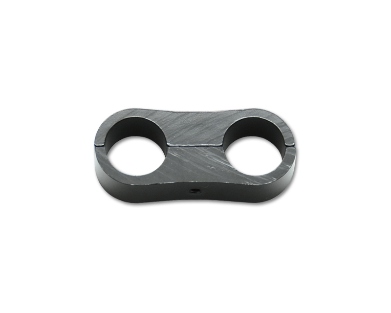 Vibrant Performance 20616 Anodized Black Line Separator with 15.9mm Holes