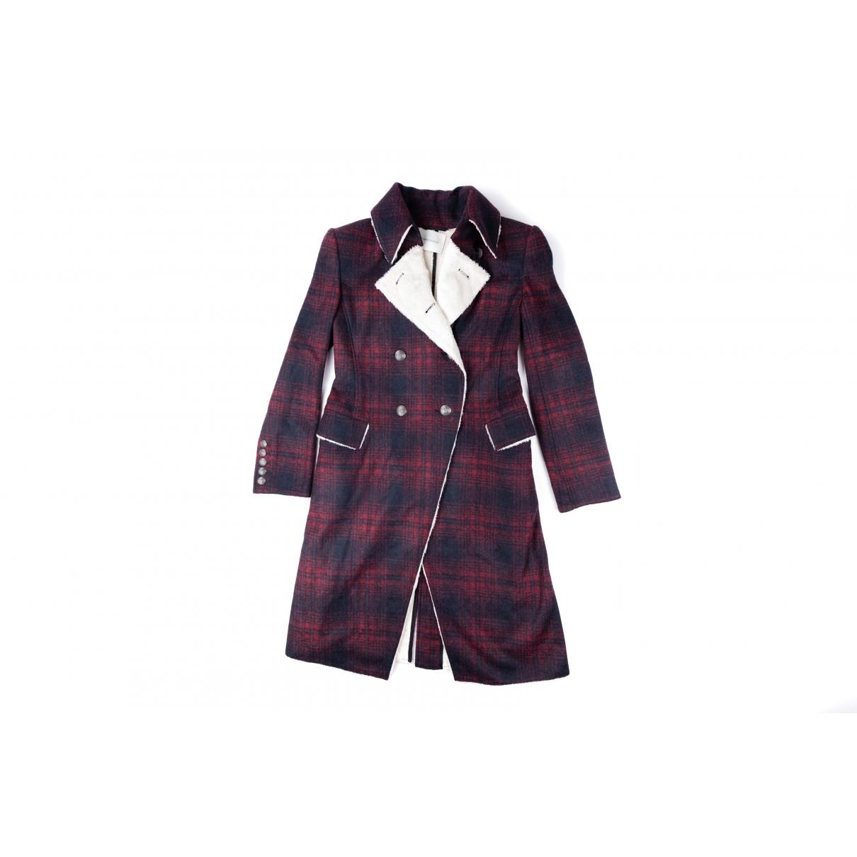 Pierre Balmain \N Black Wool coat for Women 36 FR