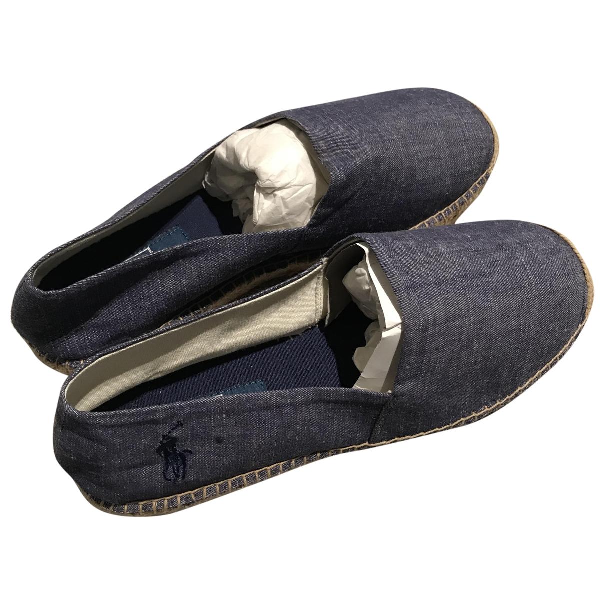 Polo Ralph Lauren - Espadrilles   pour femme en denim - bleu