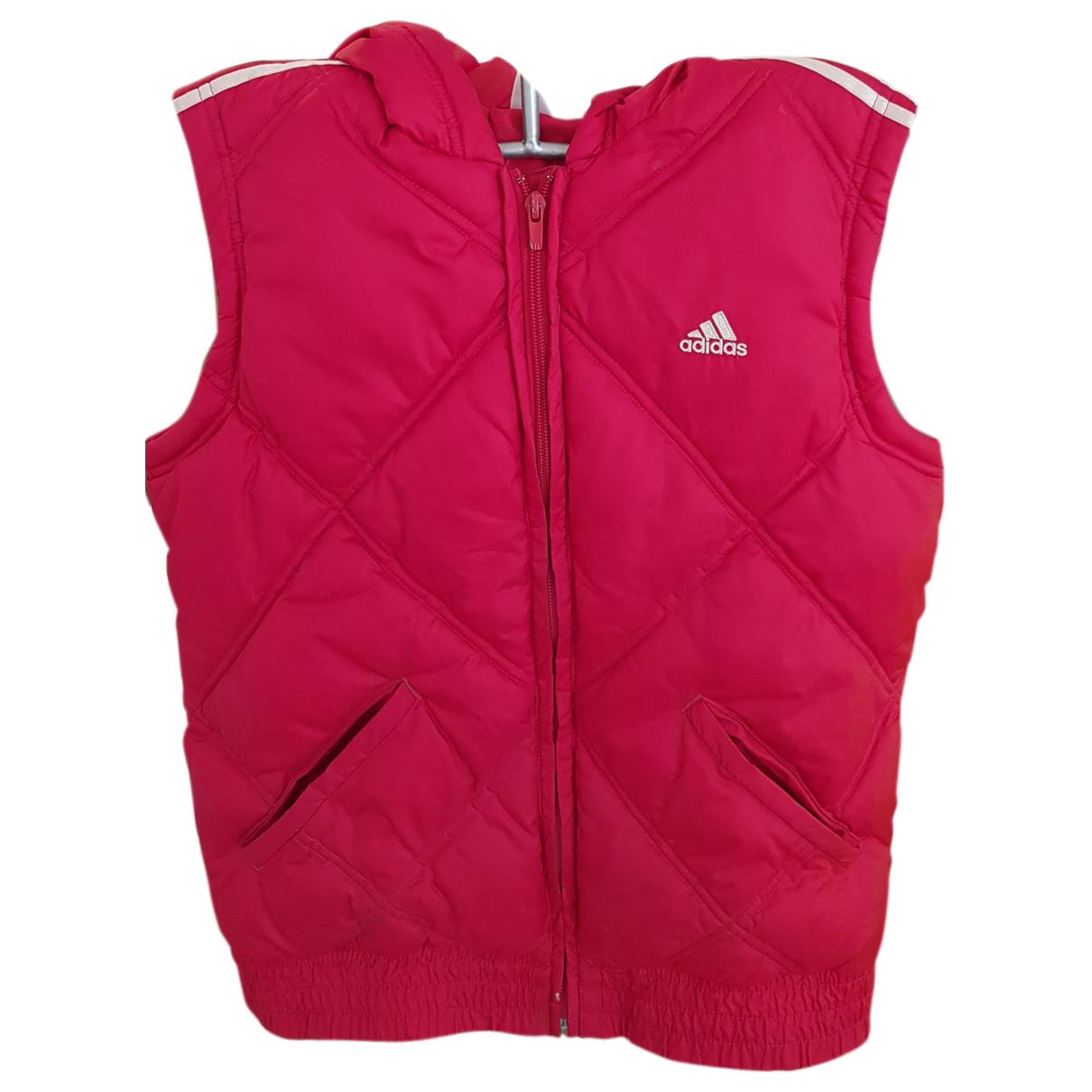 Adidas - Veste   pour femme - rouge
