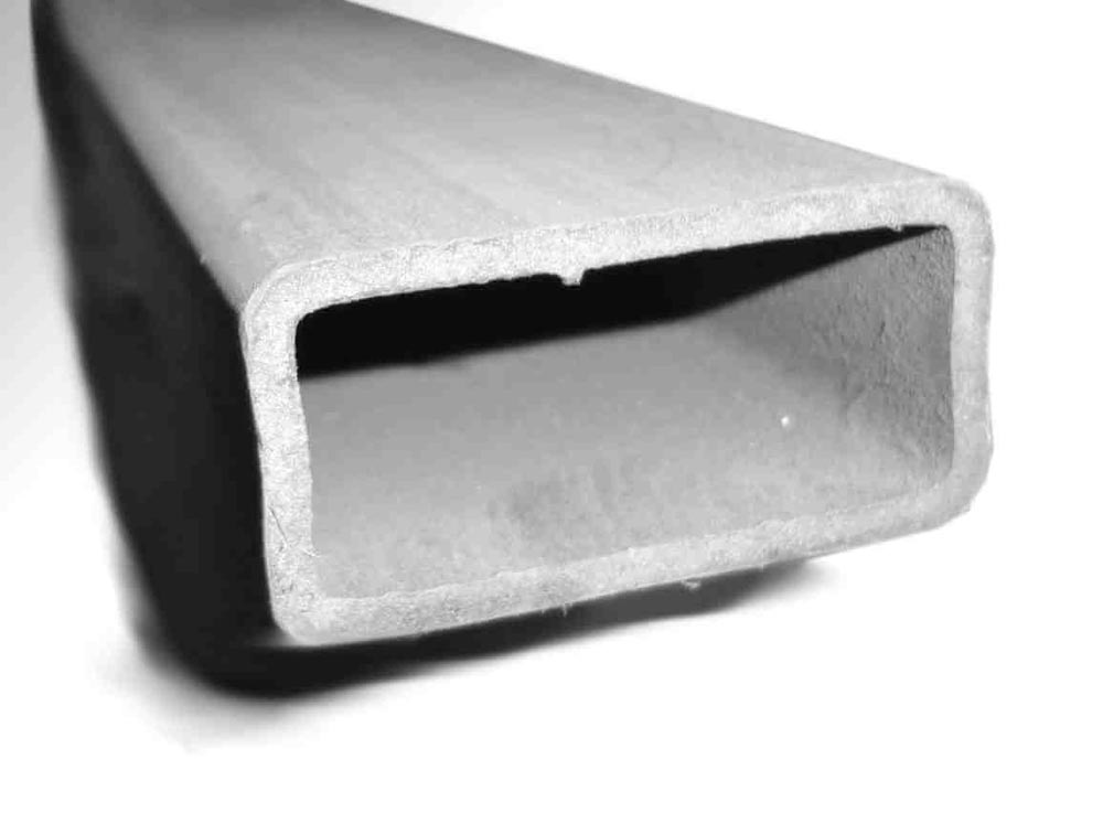 Steinjager J0007570 Tubing, HREW, Square Tubing Cut-to-Length 2.000 x 1.000 x 0.112 Square 1 Piece 36.0 Inches Long