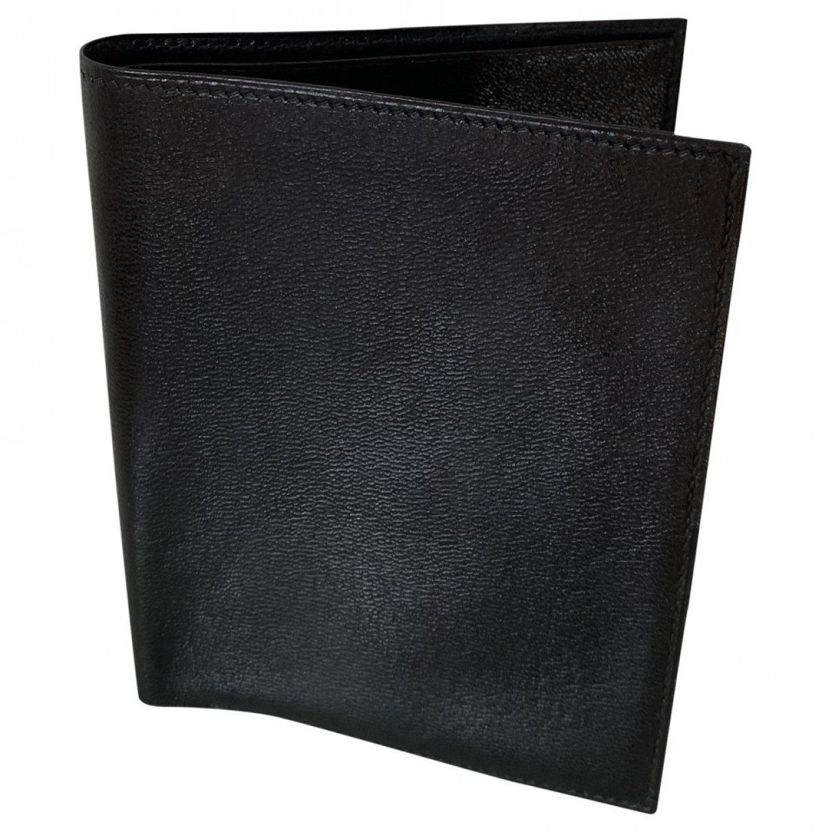 Hermes \N Kleinlederwaren in  Schwarz Leder