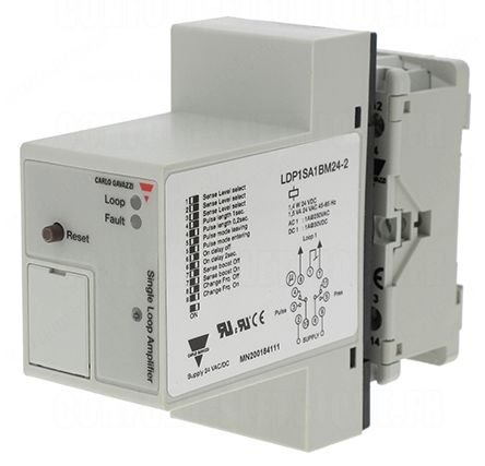 Carlo Gavazzi Inductive Sensor - Block, DPDT Output, IP20, Cable Terminal