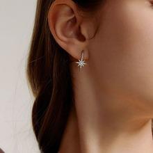 1 Paar Strass Gravierte Ohrringe