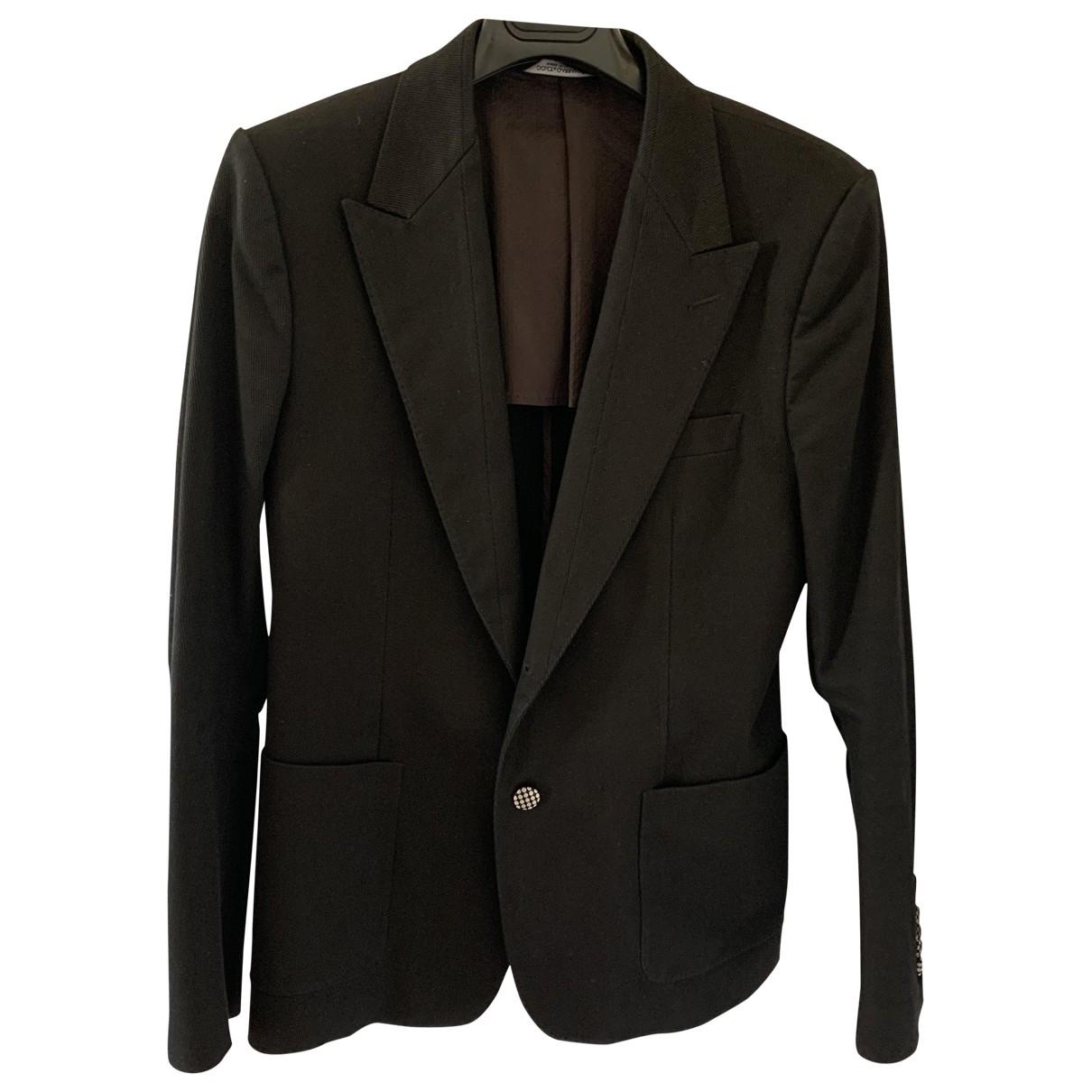 Dolce & Gabbana - Vestes.Blousons   pour homme en coton - noir