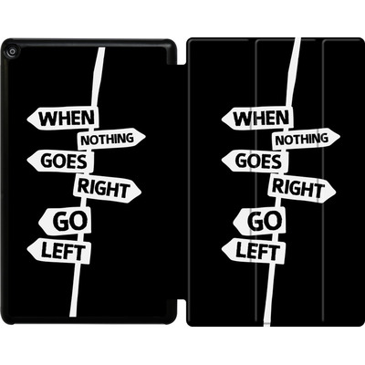 Amazon Fire HD 10 (2017) Tablet Smart Case - When Nothing Goes Right von We Make The Cake