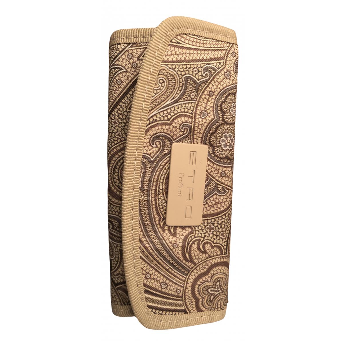 Etro N Beige Silk Purses, wallet & cases for Women N