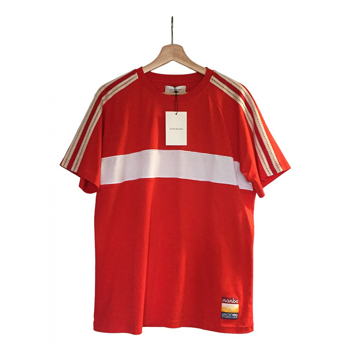 Wales Bonner N Red Cotton  top for Women XL International