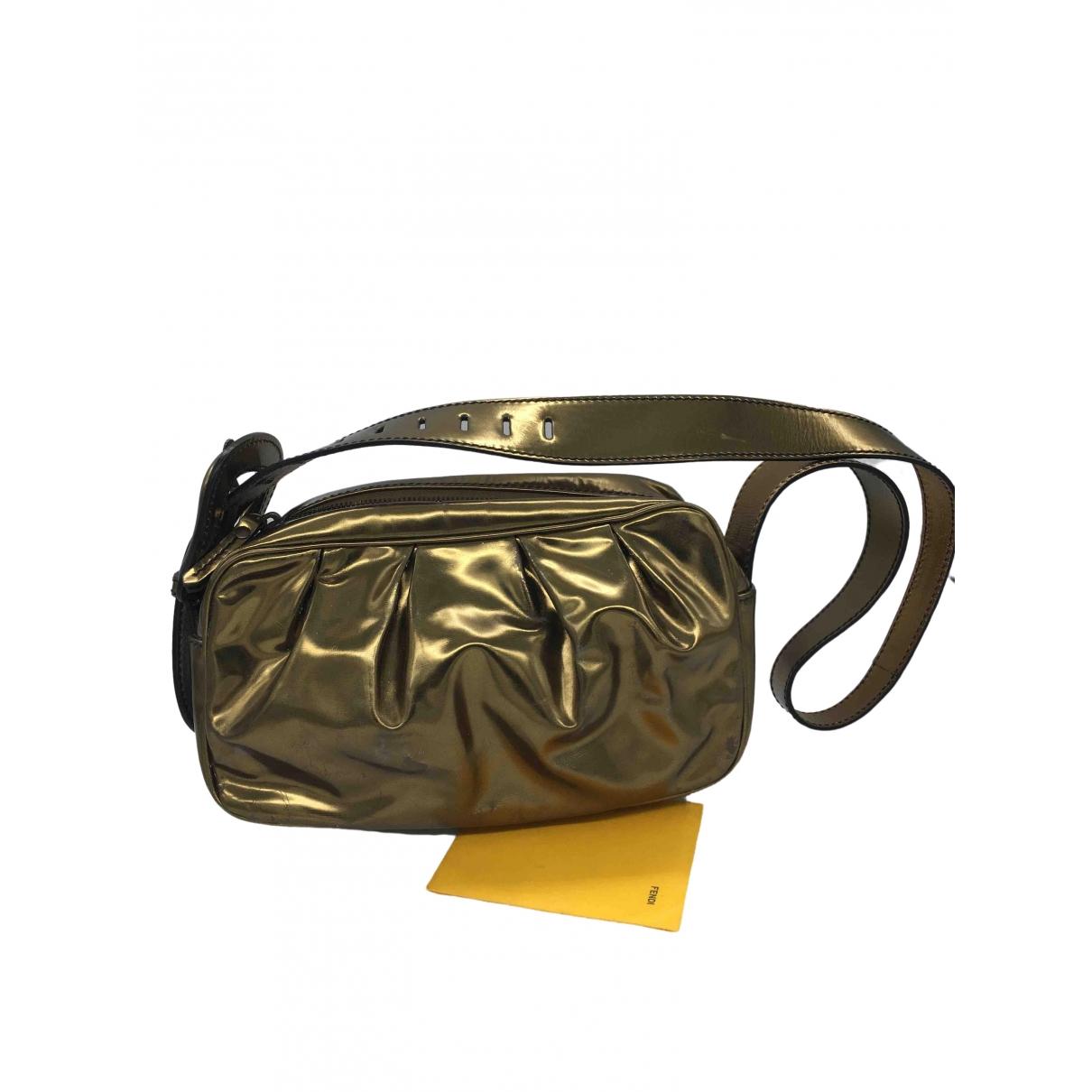Fendi Bebaguette Metallic Leather handbag for Women \N