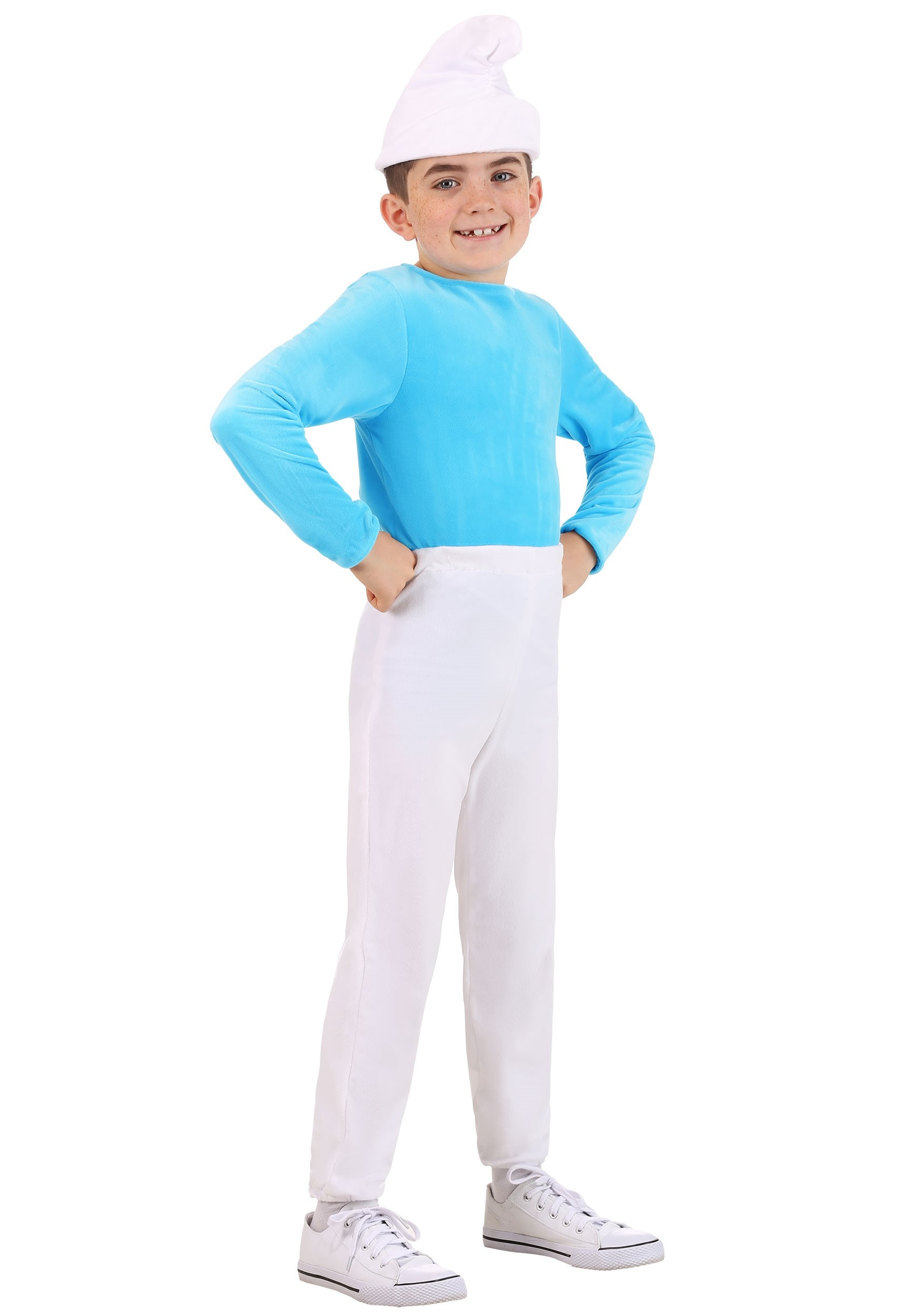 Kid's The Smurfs Smurf Costume