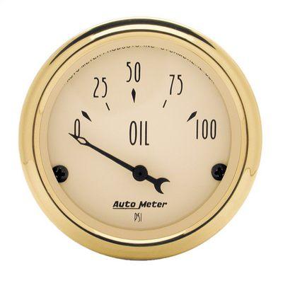 Auto Meter Golden Oldies Oil Pressure Gauge - 1528