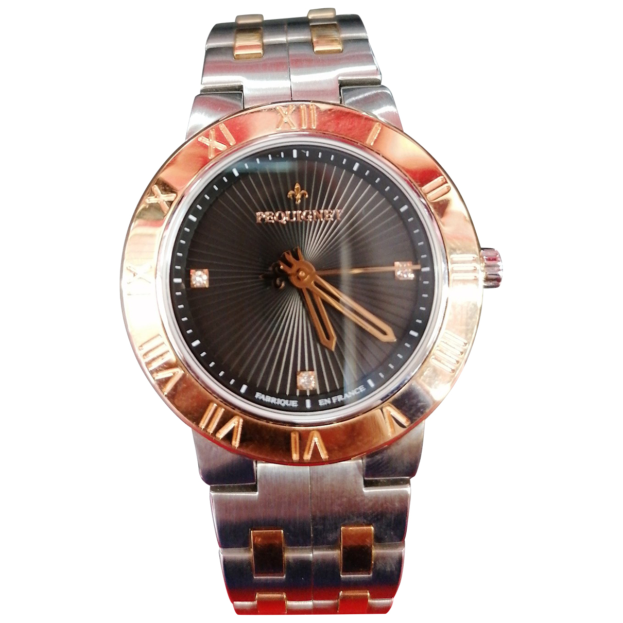 Pequignet \N Silver gold and steel watch for Women \N