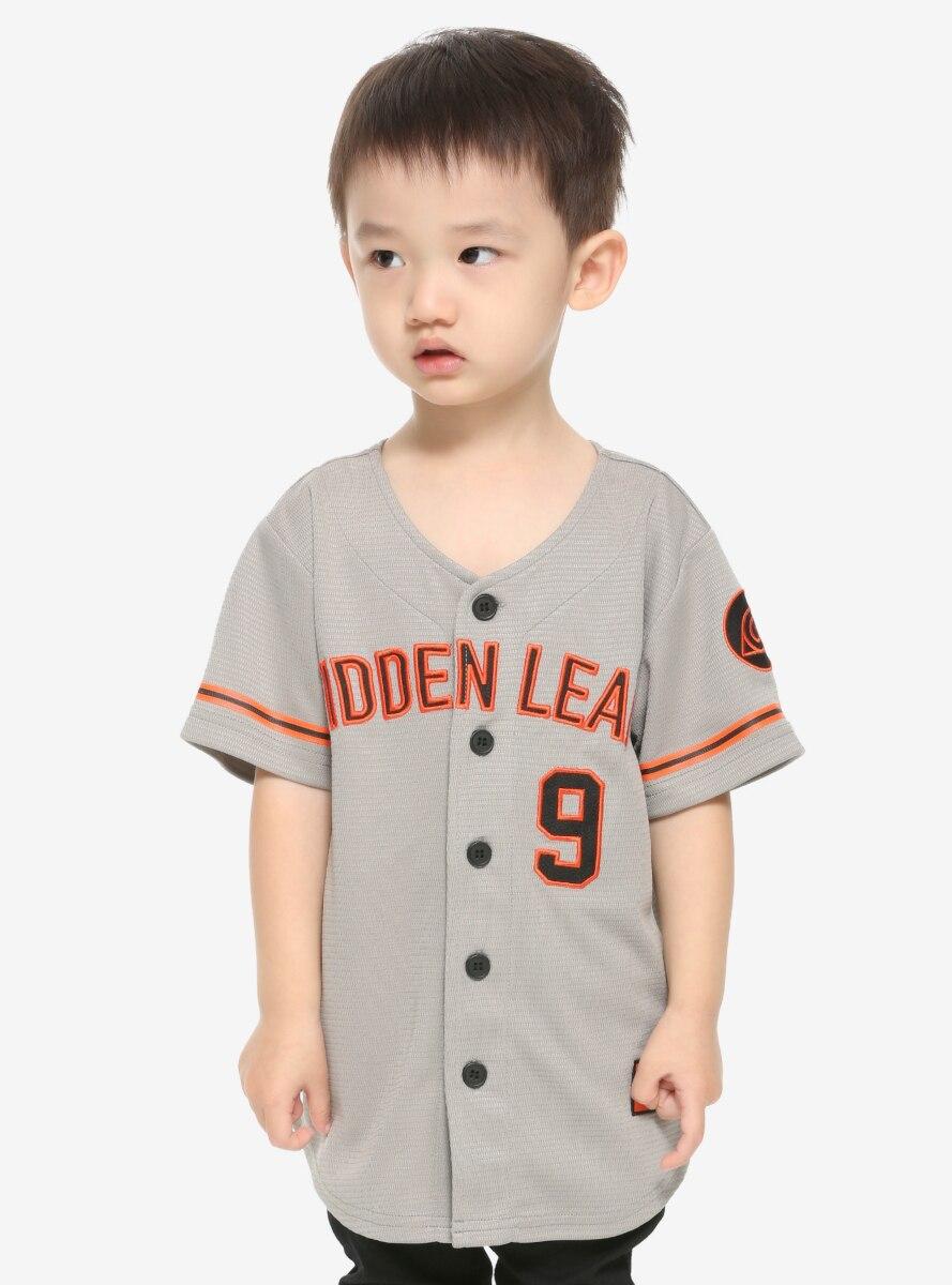 Naruto Shippuden Hidden Leaf Toddler Baseball Jersey - BoxLunch Exclusive