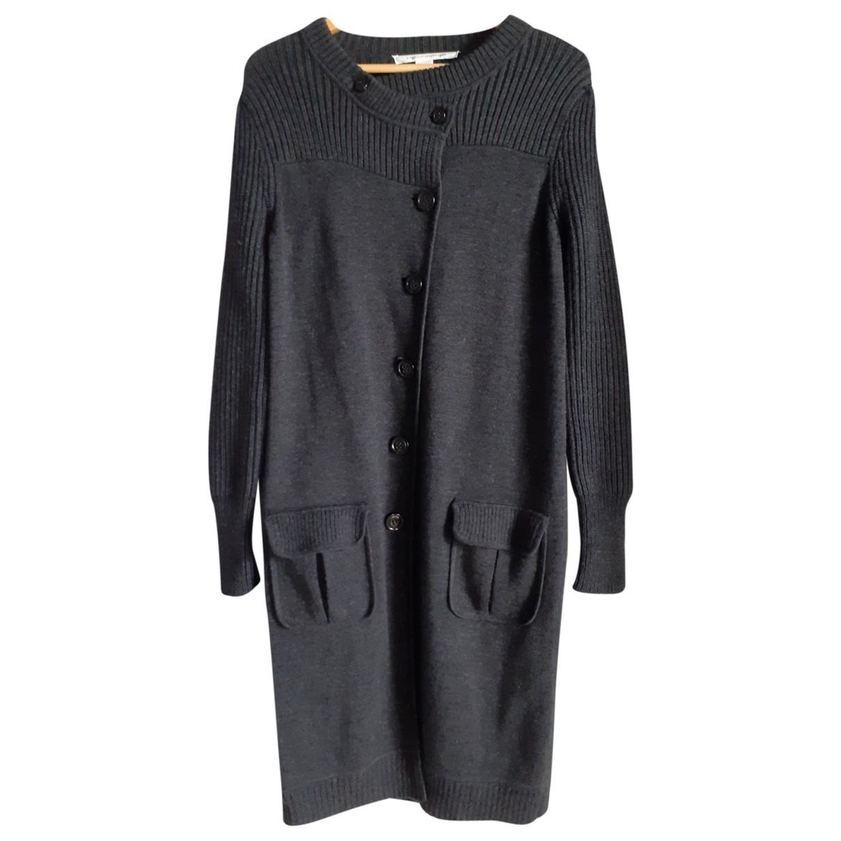 Diane Von Furstenberg N Grey Wool coat for Women S International