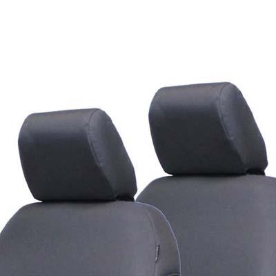 Bartact JKHR0710R2G Jeep JK Bench Headrest Covers 07-10 Wrangler JK 2 Door Tactical Series Graphite