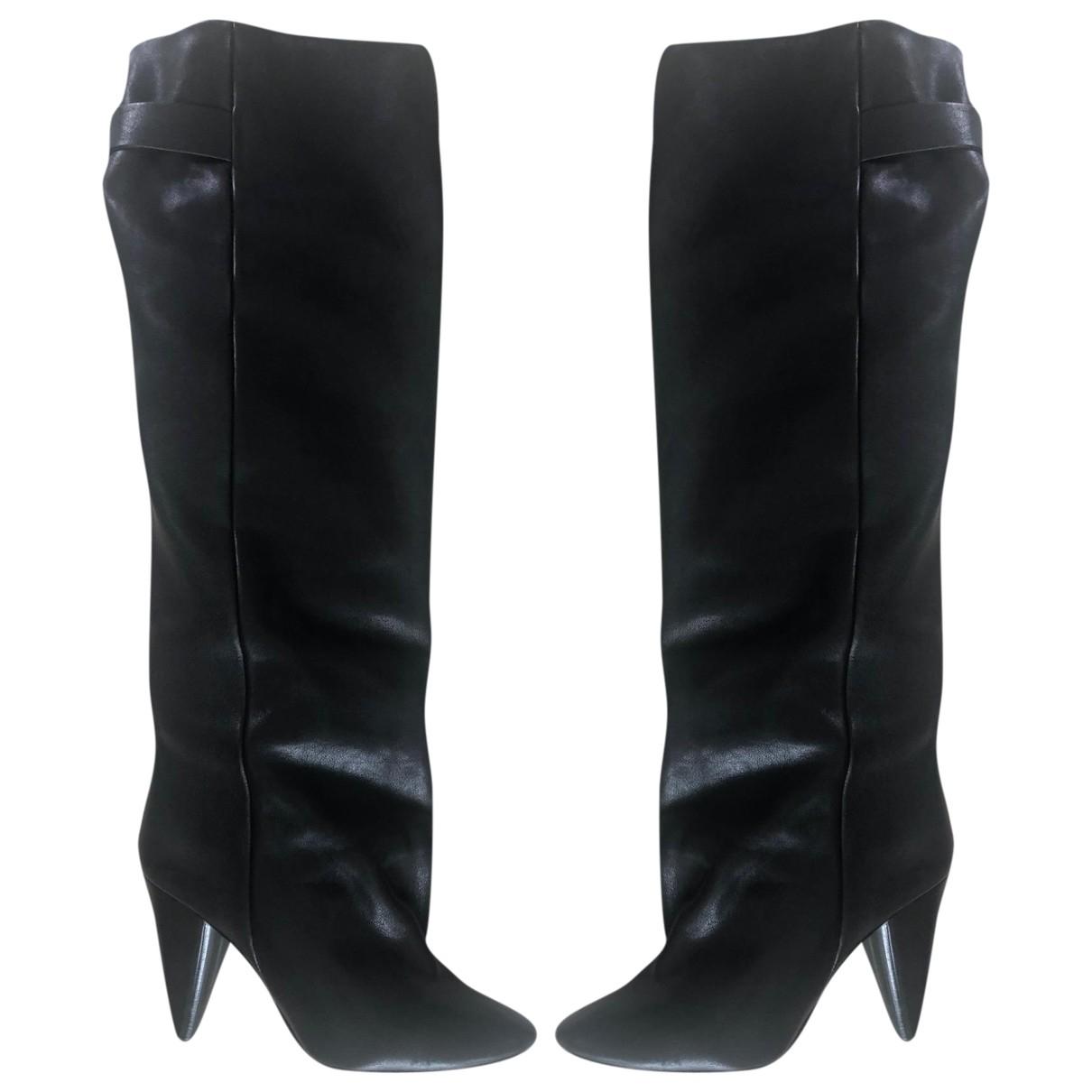 Isabel Marant \N Stiefel in  Schwarz Leder