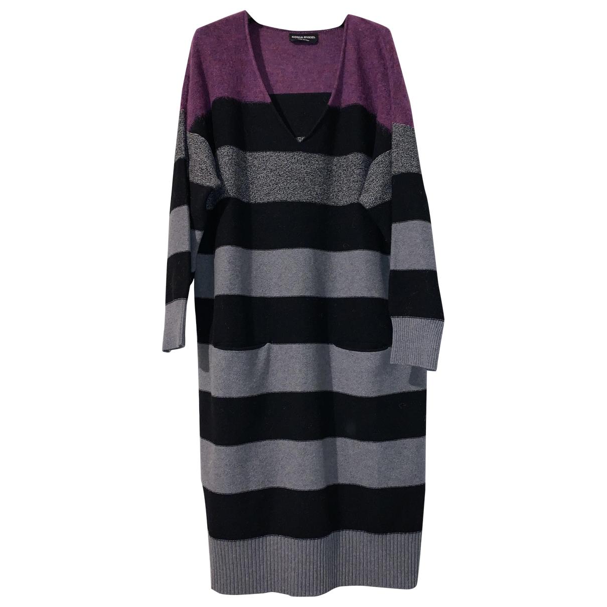 Sonia Rykiel \N Grey Wool dress for Women 38 FR