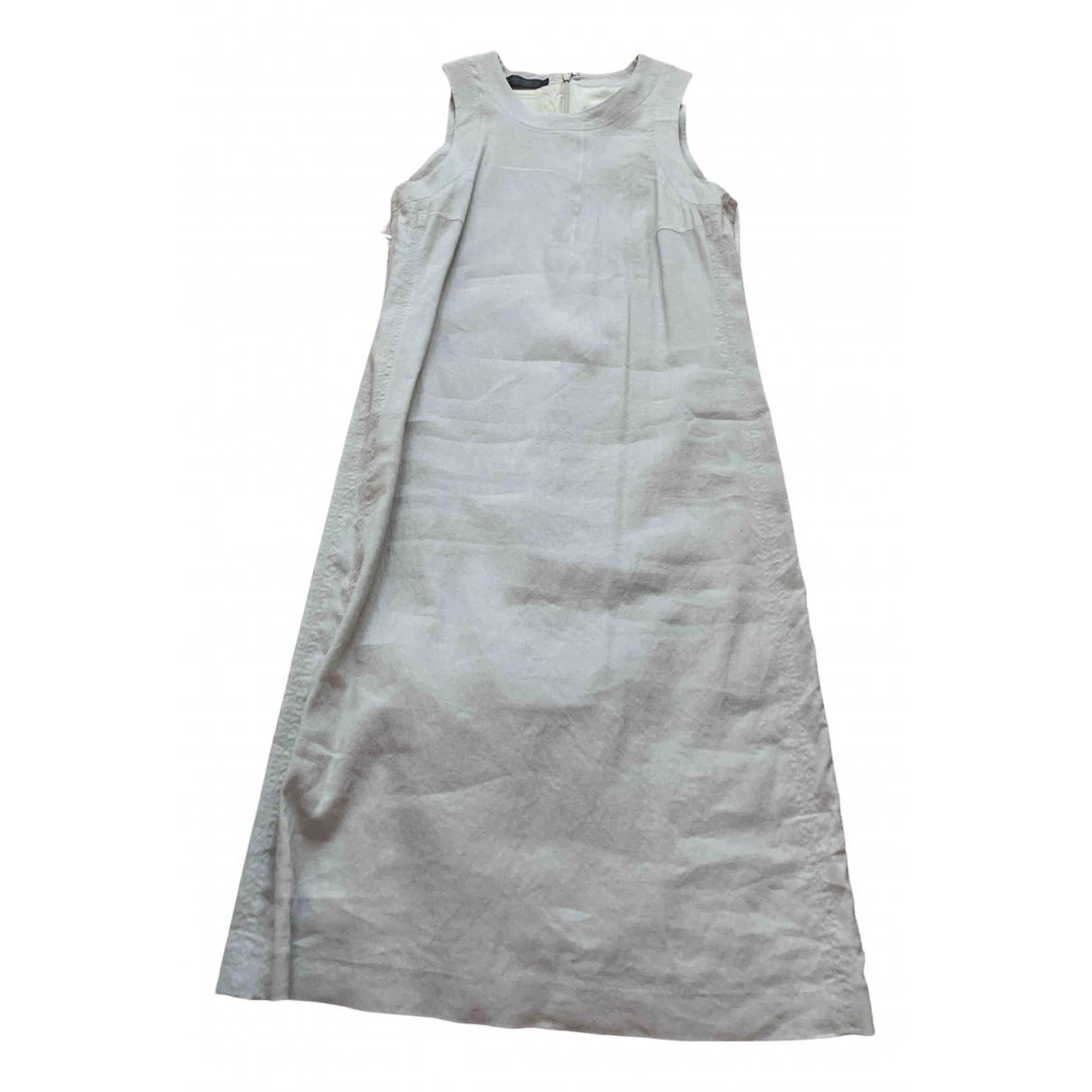 Vestido midi de Lino Calvin Klein