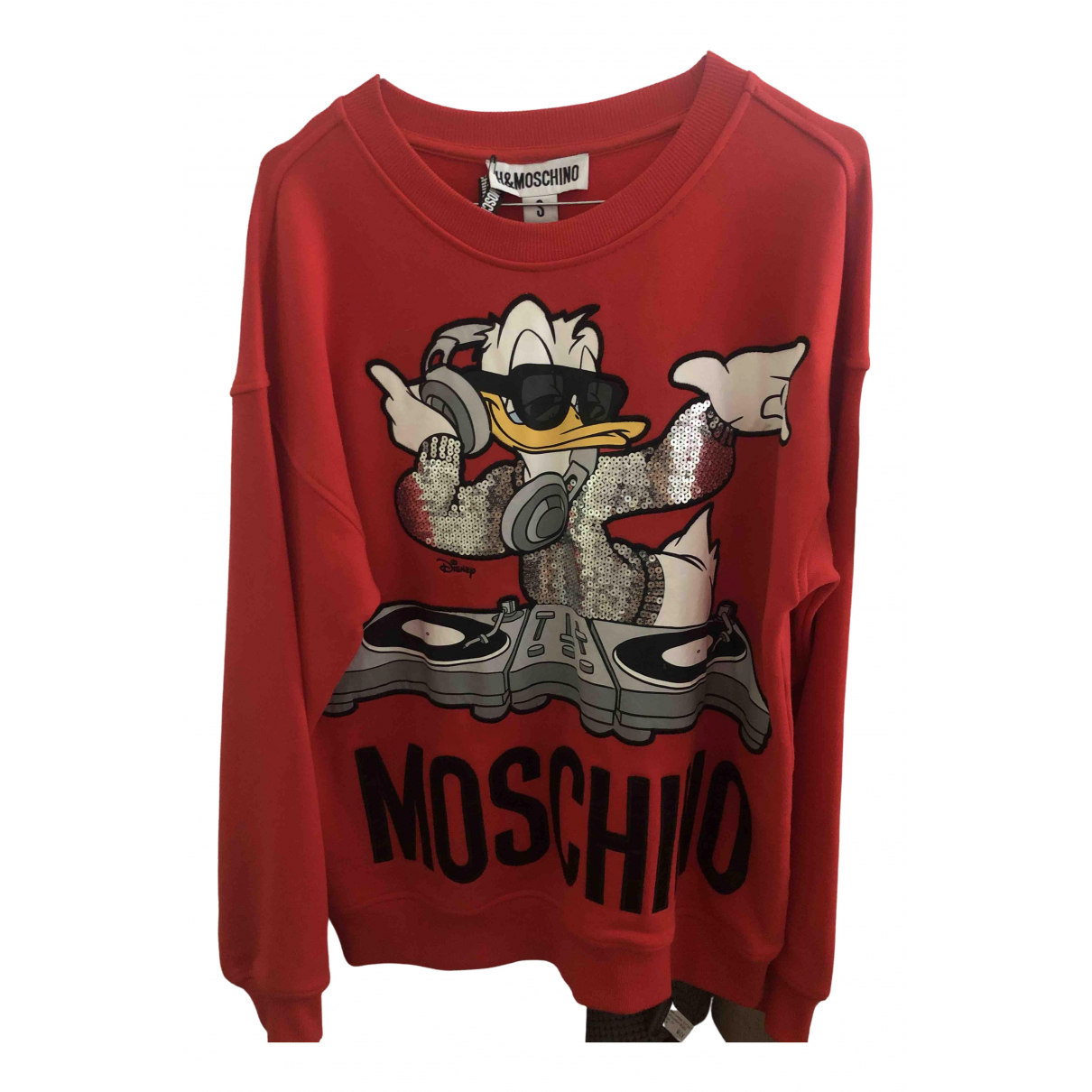 Moschino For H&m \N Red Cotton Knitwear for Women S International