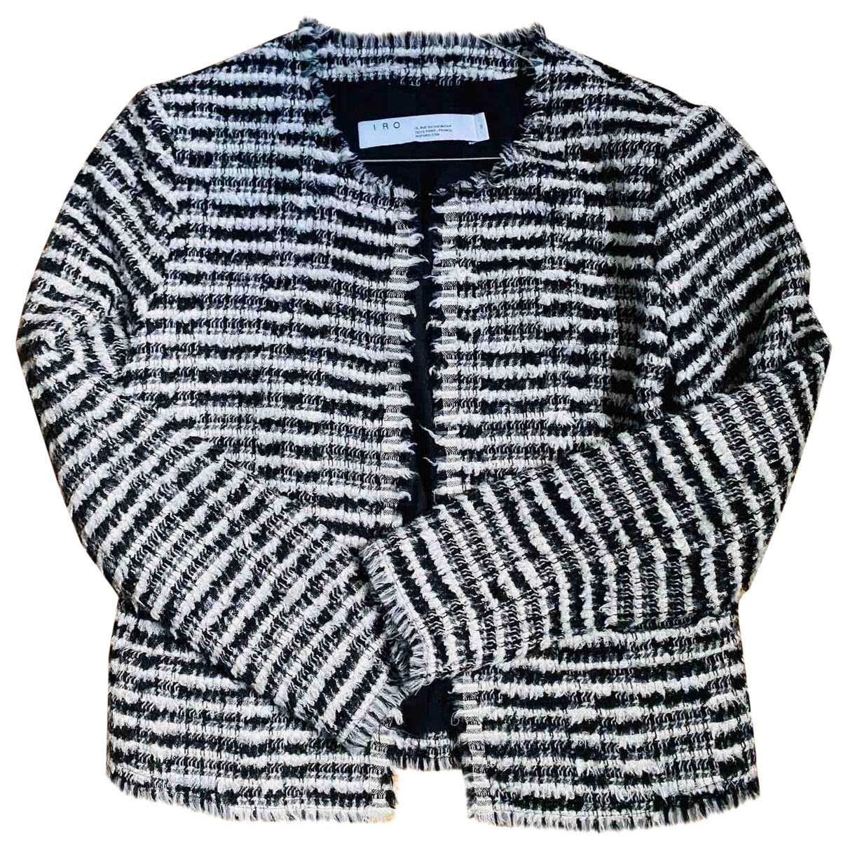 Iro - Veste Fall Winter 2019 pour femme en laine - noir