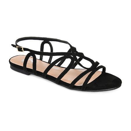 Journee Collection Womens Honey Pumps Block Heel, 7 Medium, Black