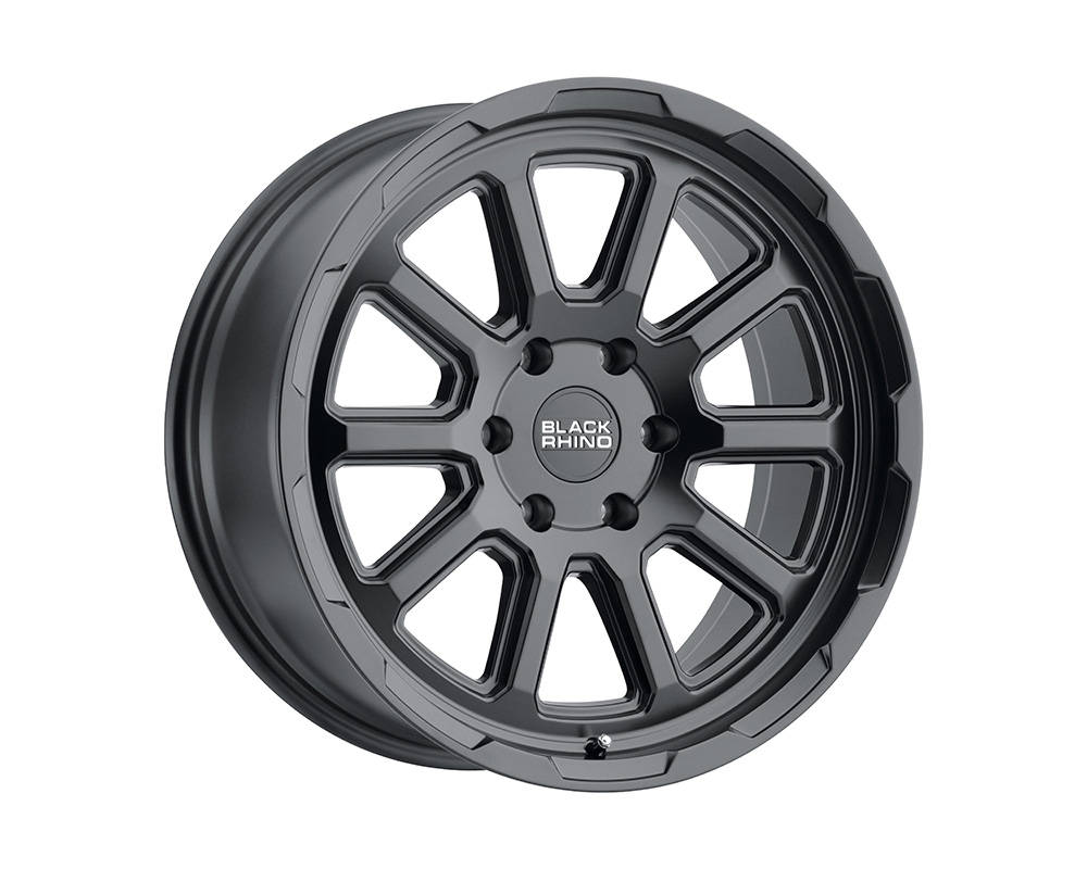 Black Rhino Chase Wheel 17x8  5x127 10mm Matte Black