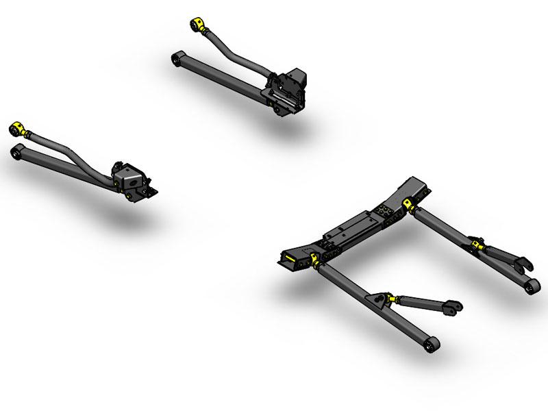 JK Long Arm Upgrade Kit 12-15 Clayton Offroad COR-4808322-COR
