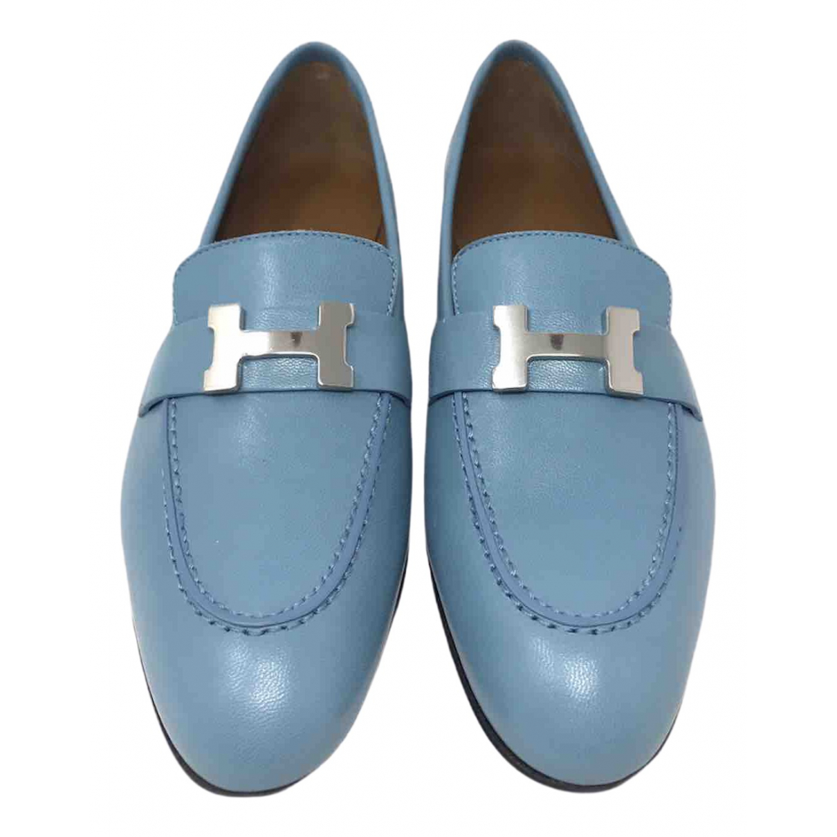 Mocasines Paris de Cuero Hermes