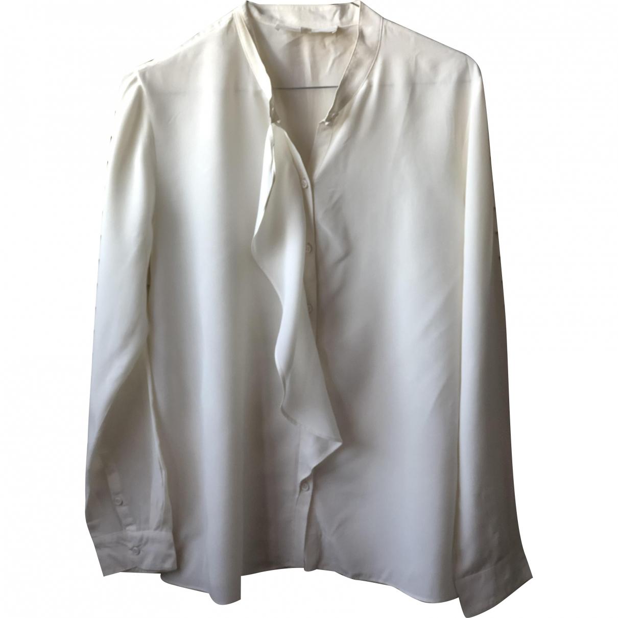 Vanessa Bruno Athe \N Ecru Silk  top for Women 40 FR