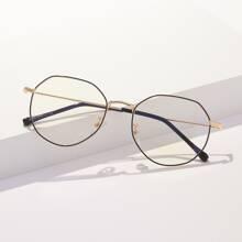 Gafas de marco metalico