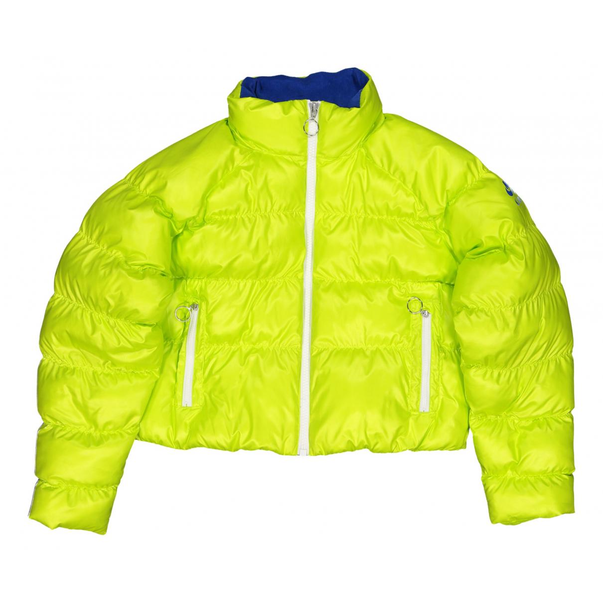 Nike - Manteau   pour femme - jaune