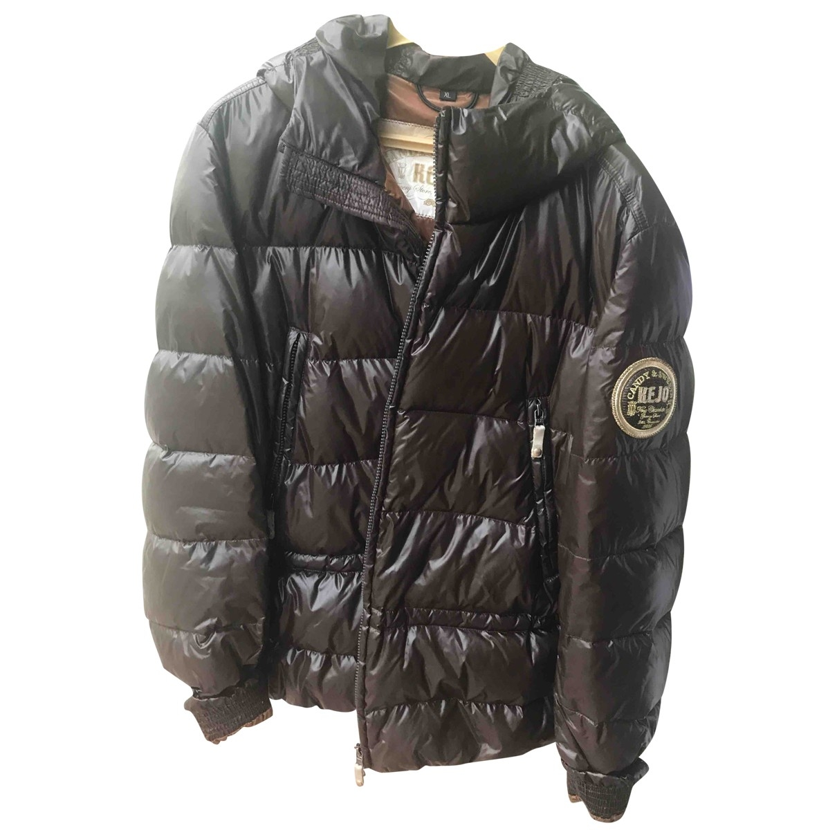 Non Signe / Unsigned \N Jacke in  Braun Synthetik