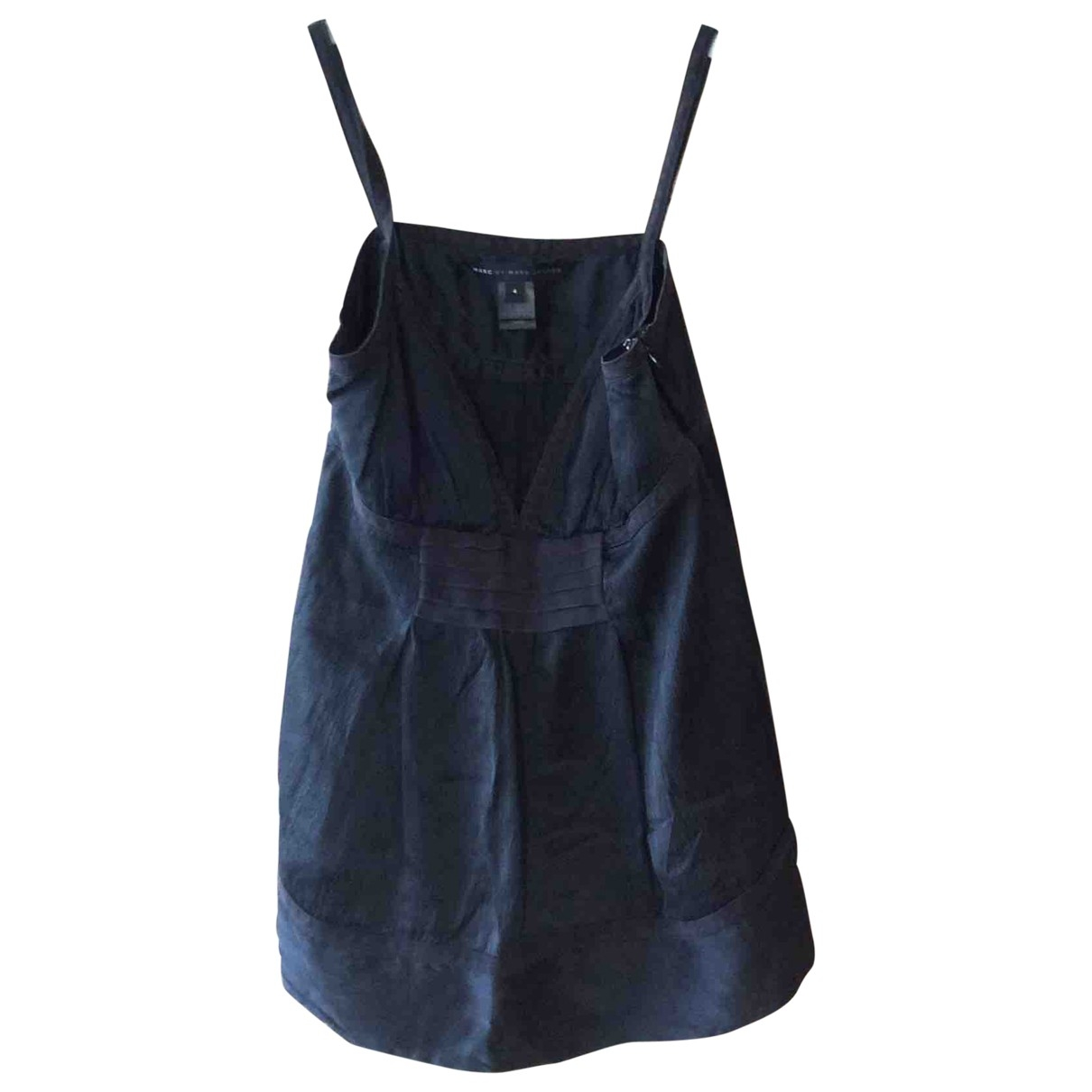Marc By Marc Jacobs \N Black Silk  top for Women 4 UK