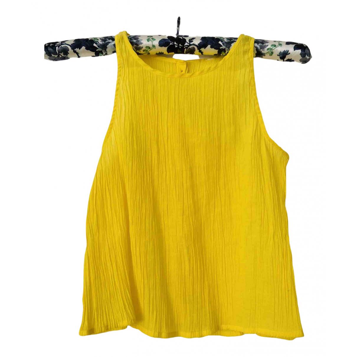 Mango N Yellow  top for Women XS International