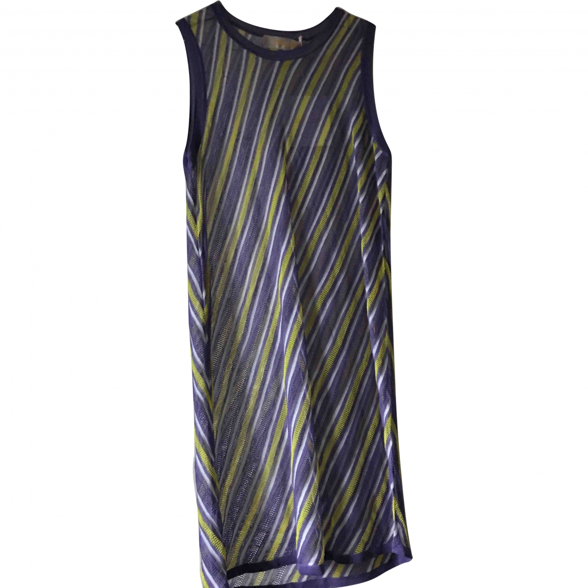 Diane Von Furstenberg \N Purple Cotton dress for Women S International