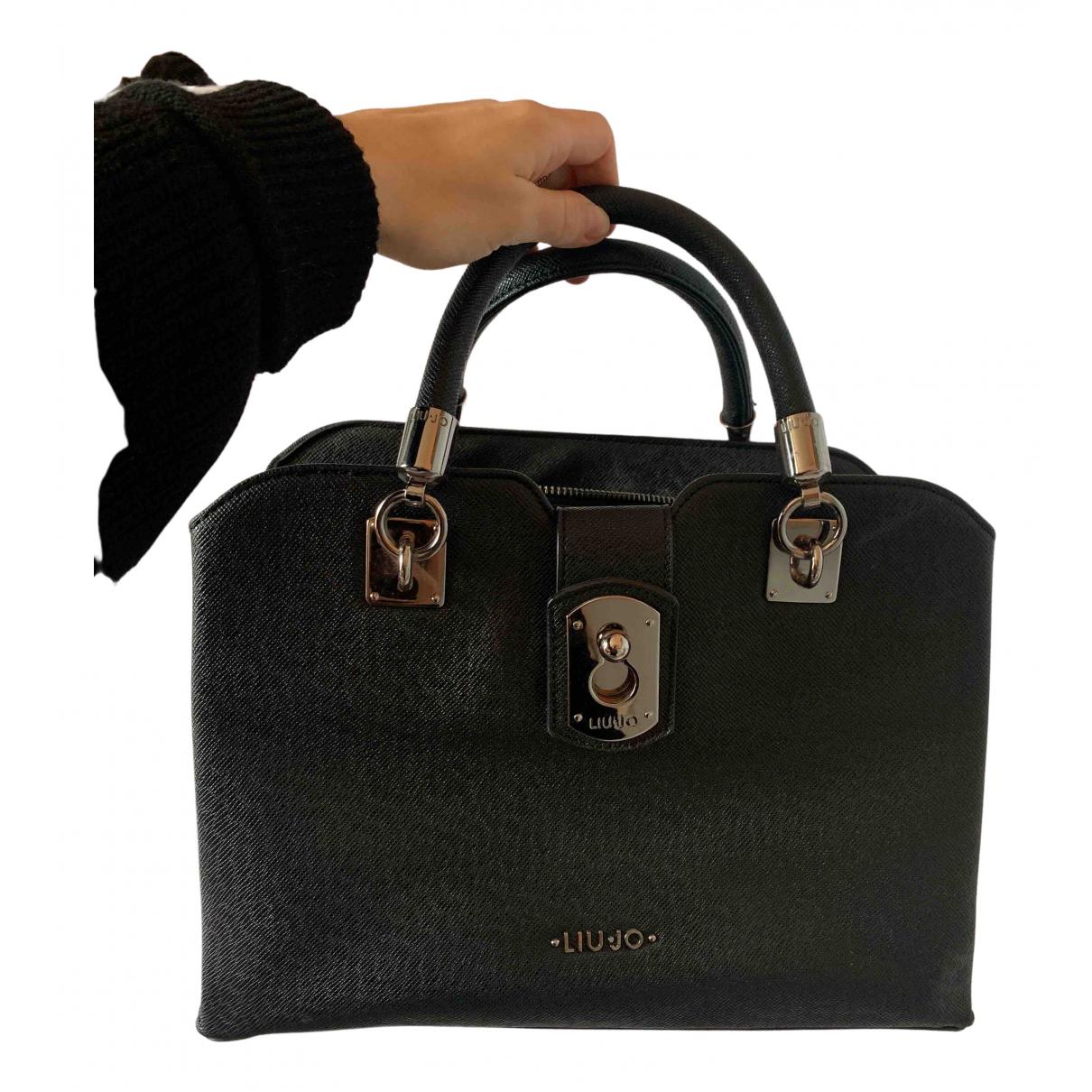 Liu.jo N Black Leather handbag for Women N