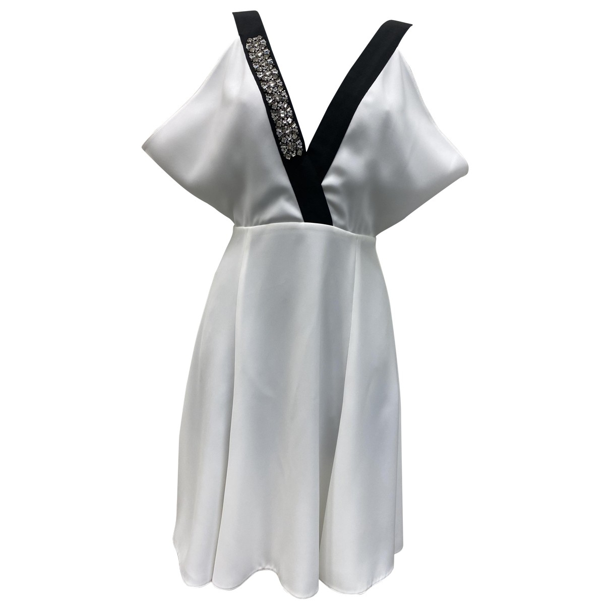 Prada \N Kleid in  Weiss Synthetik