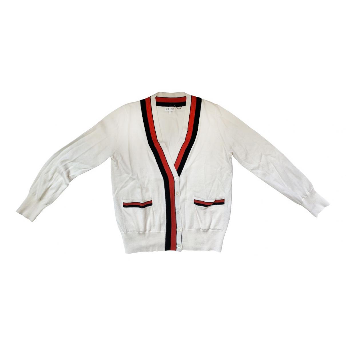 Claudie Pierlot \N White Wool Knitwear for Women 3 0-5