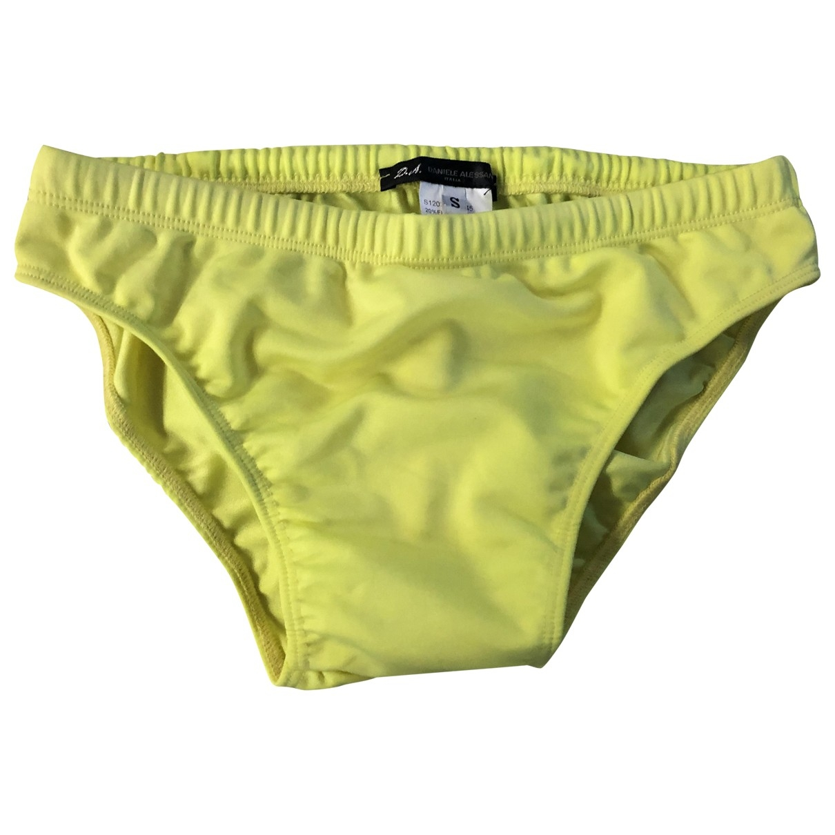 Daniele Alessandrini \N Yellow Swimwear for Men S International