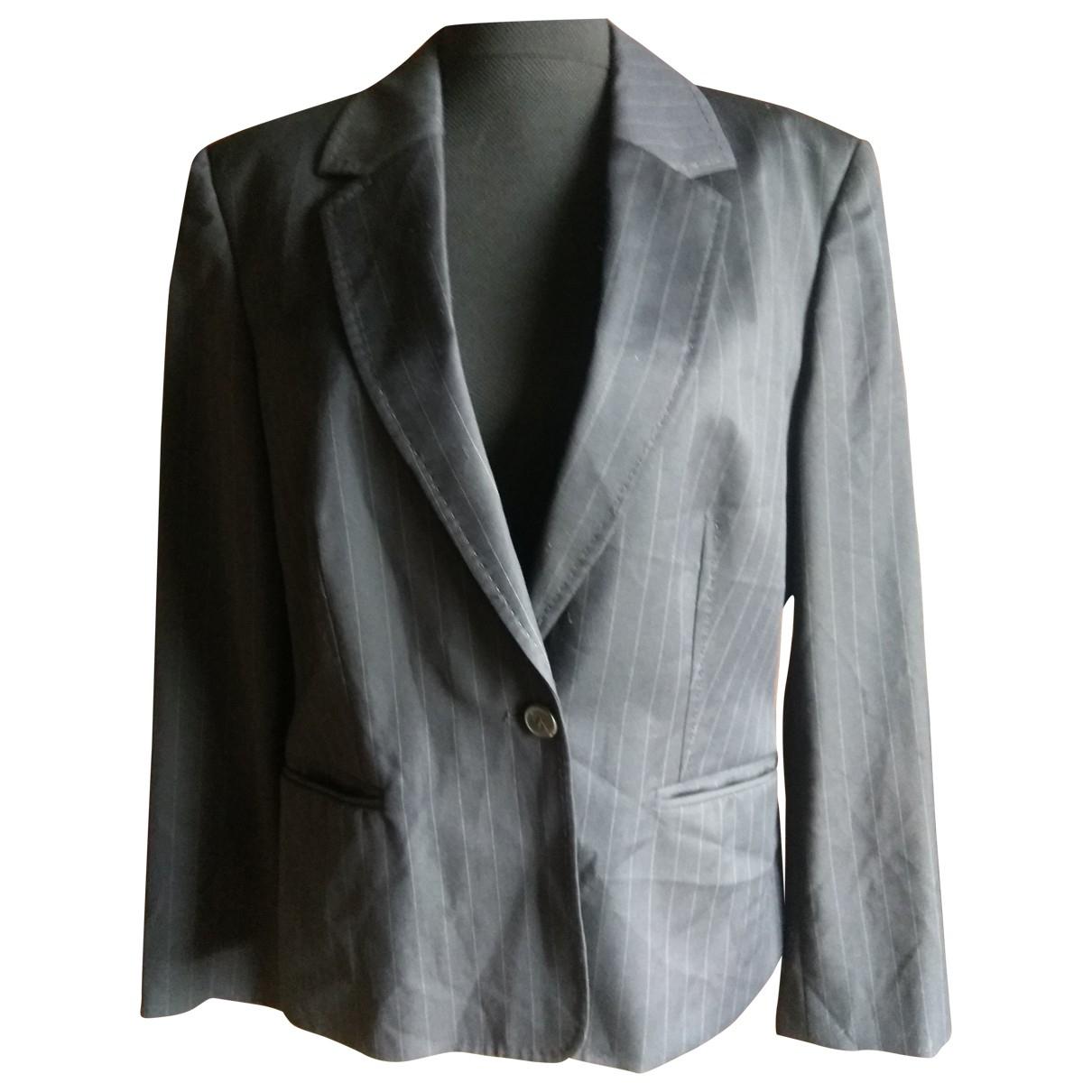 Daks - Veste   pour femme en laine - bleu