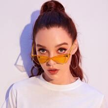 Katzeaugen Tinted Lense Sonnenbrille