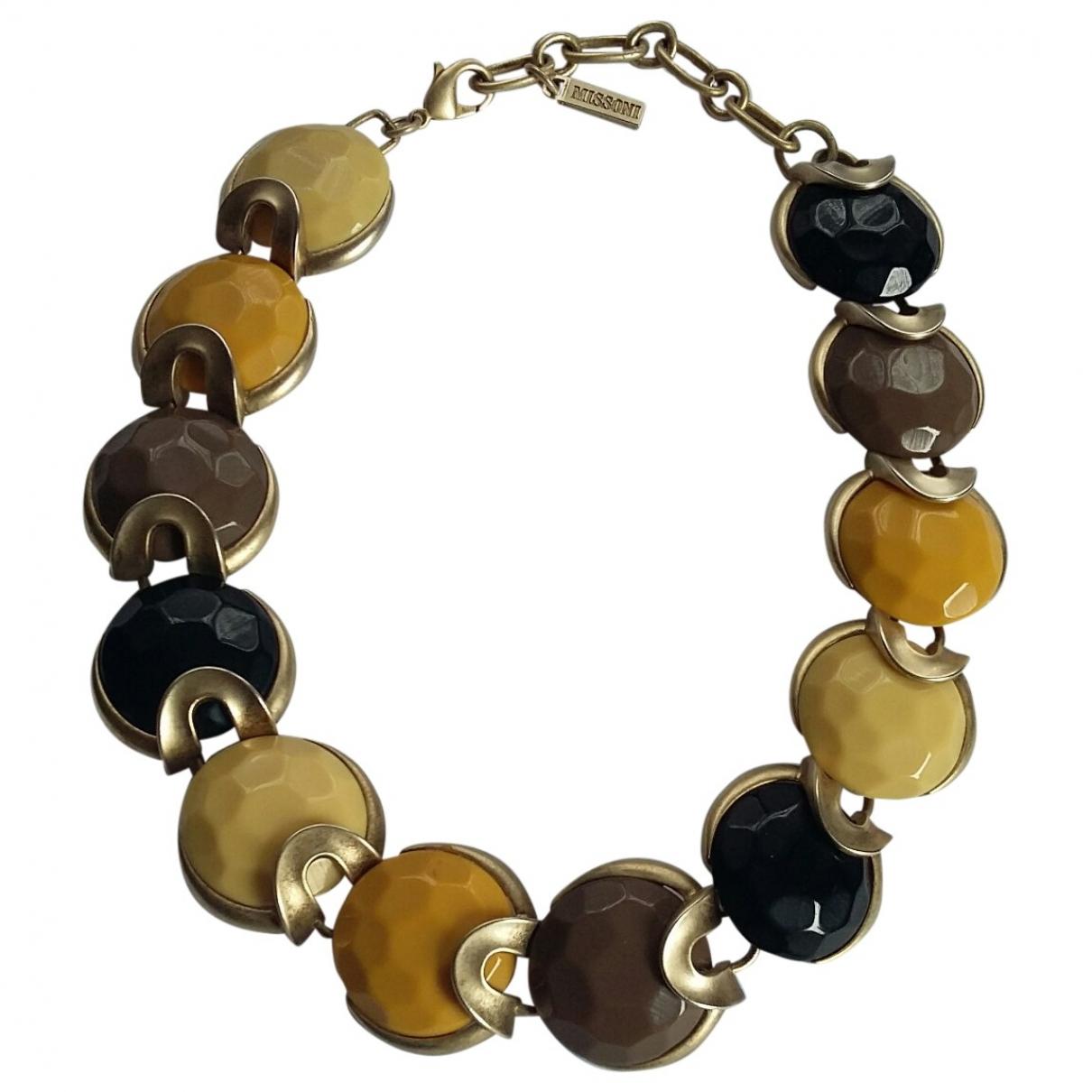 Missoni - Collier   pour femme en metal - multicolore