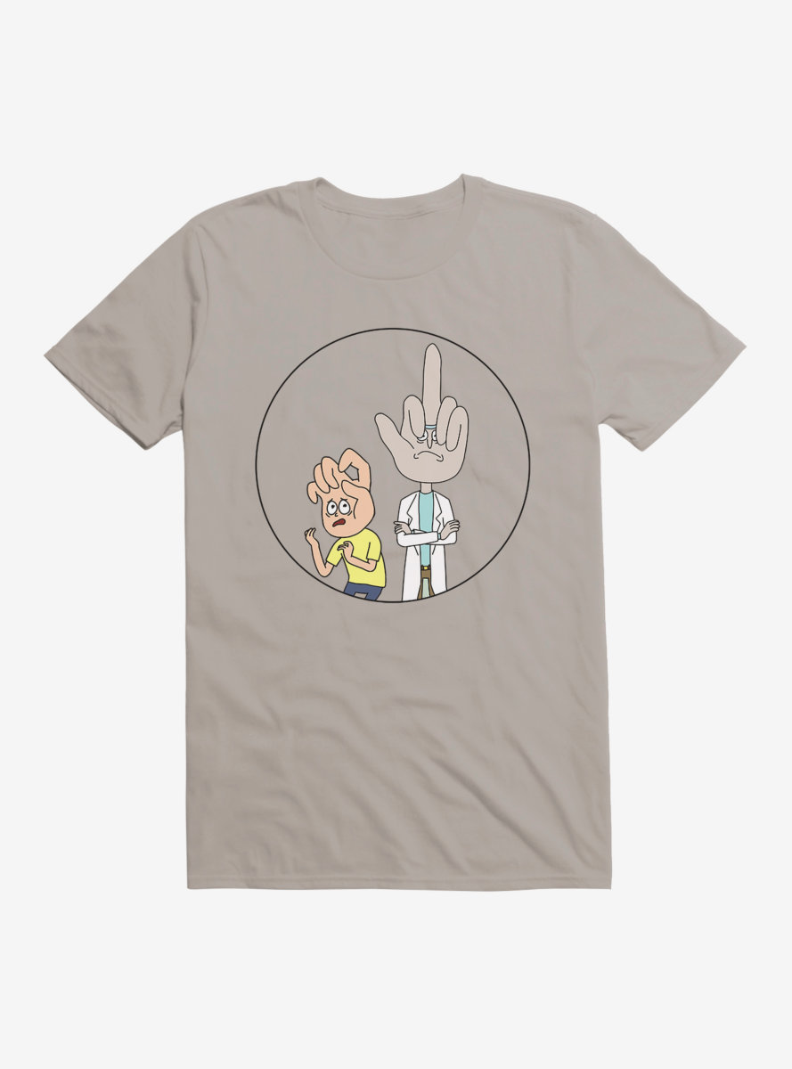 Rick And Morty Give Them A Hand T-Shirt
