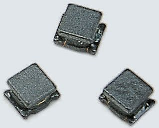 Murata , LQH43MN, 1812 (4532M) Wire-wound SMD Inductor with a Ferrite Core, 1.8 mH ±5% Wire-Wound 35mA Idc Q:40 (25)