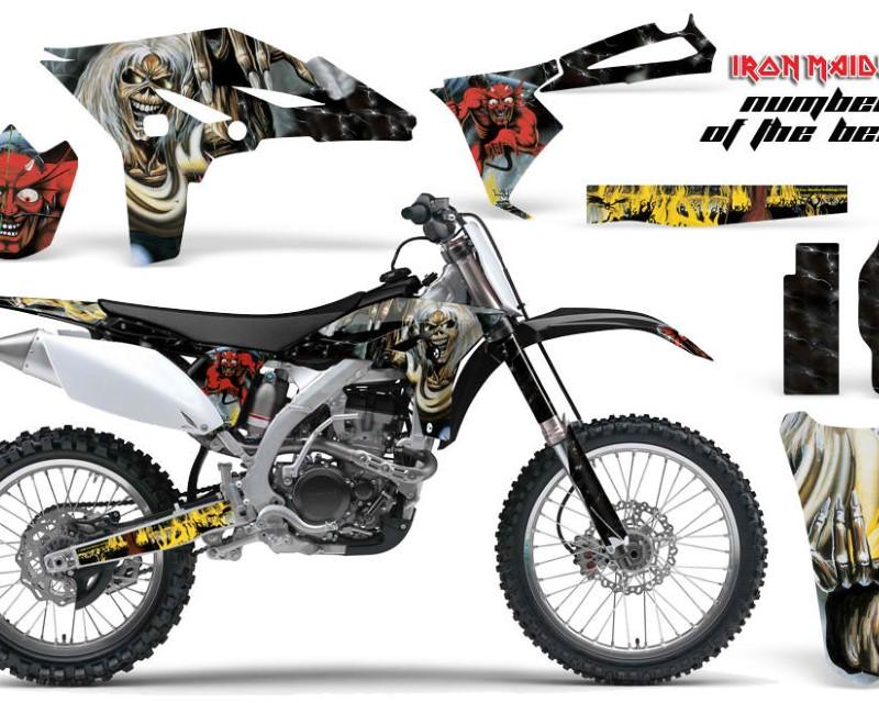 AMR Racing Dirt Bike Graphics Kit Decal Sticker Wrap For Yamaha YZ250F 2010-2013áIM NOTB