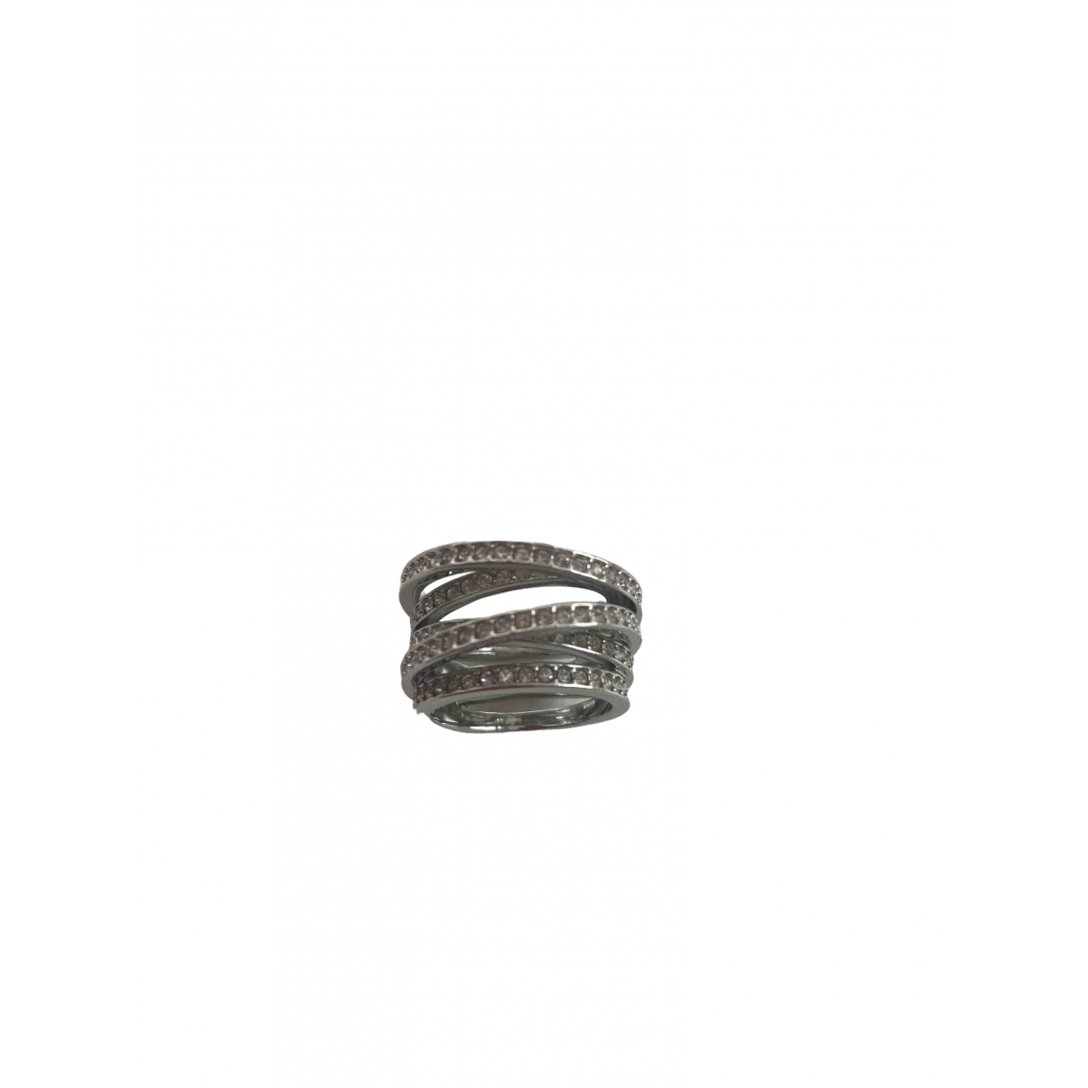 Swarovski \N Ring in  Silber Stahl