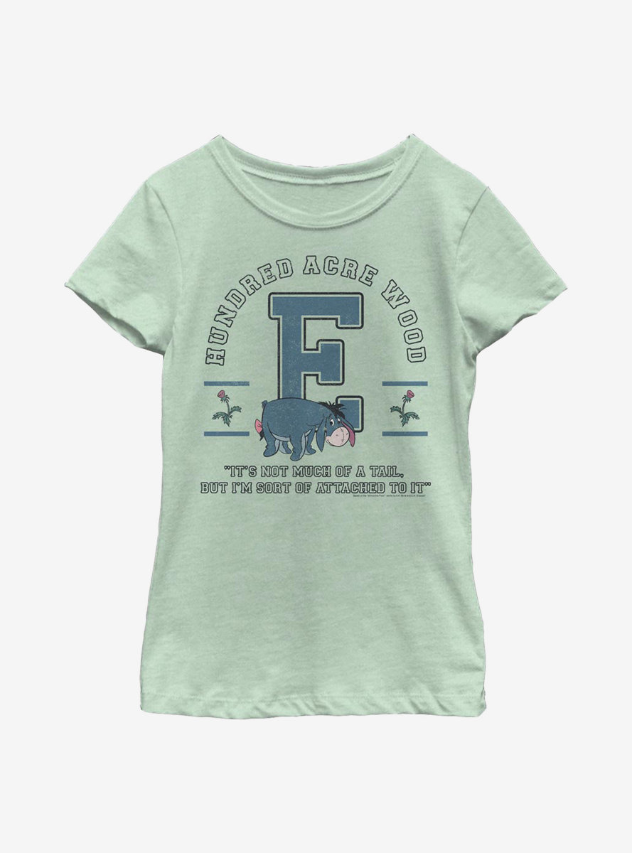 Disney Winnie The Pooh Eeyore Collegiate Youth Girls T-Shirt