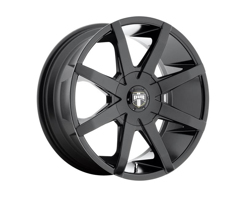 DUB S110 Push Wheel 20x8.5 BLANK 38mm Gloss Black