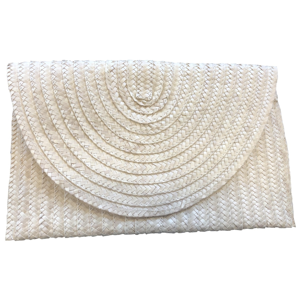 Non Signé / Unsigned \N Beige Wicker Clutch bag for Women \N