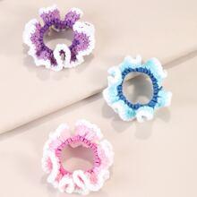 3pcs Baby Crochet Scrunchies